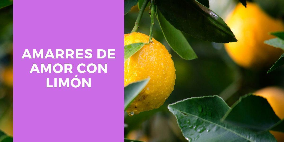 amarres de amor con limon