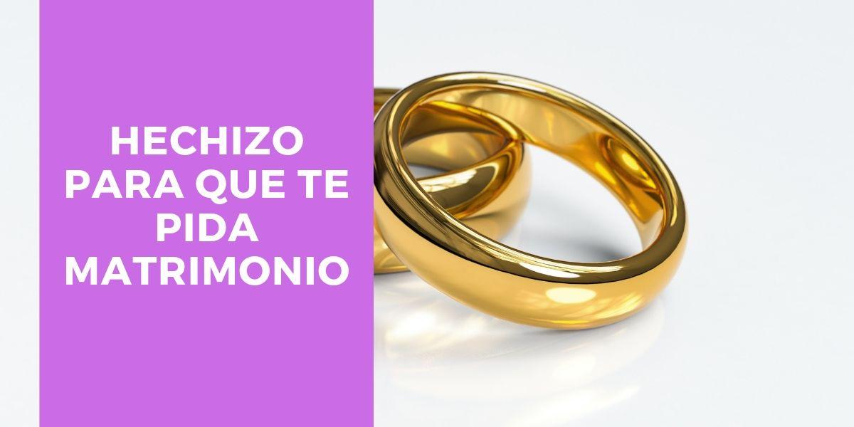 hechizo para que me pida matrimonio